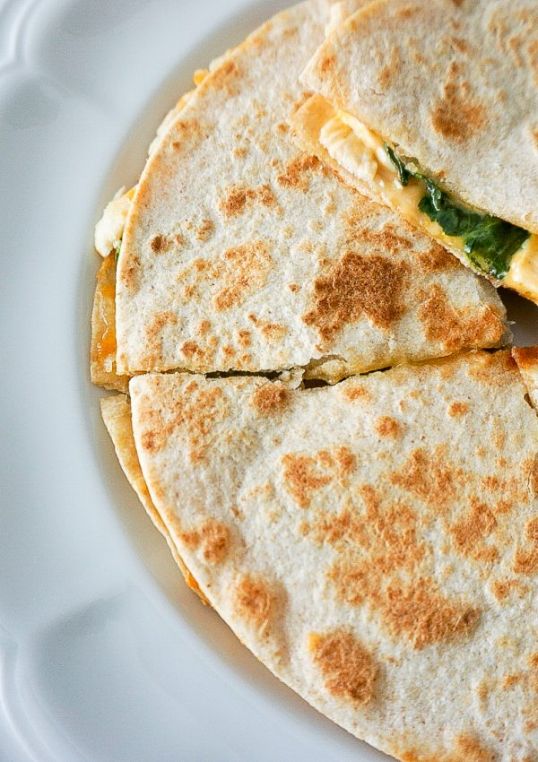 Healthy Chicken Quesadillas: A Quick & Easy Lunch