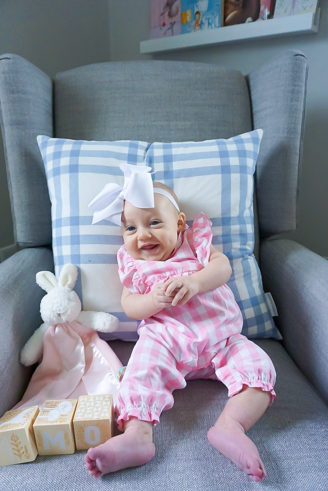 preppy baby girl clothing, motherhood blog, 4 month old baby blog, best 4 month old baby toys