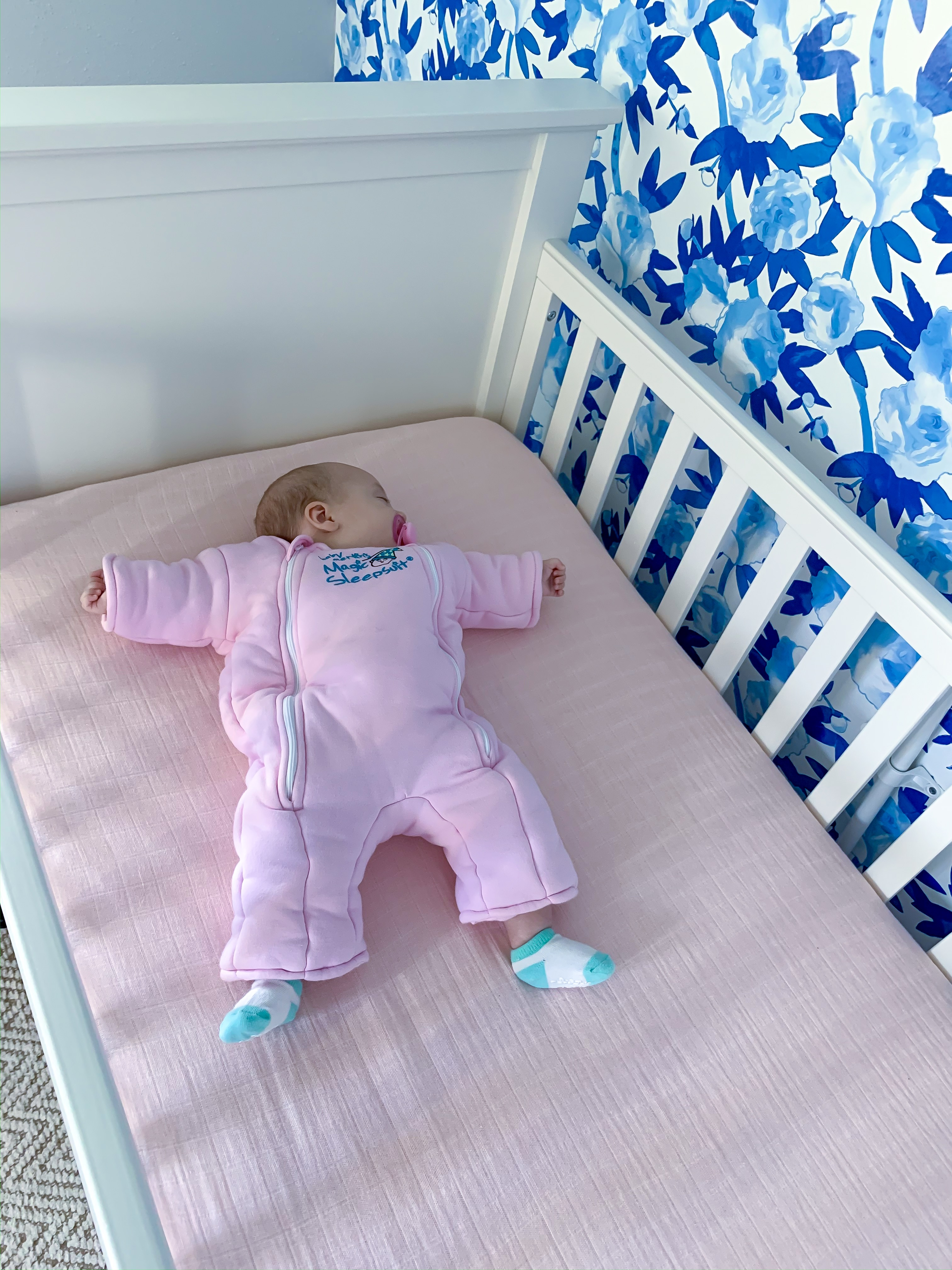 Baby Merlin Magic Sleepsuit review, baby sleeping with reflux, baby reflux blog
