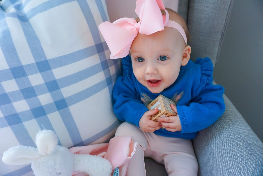 8 month old baby girl blog