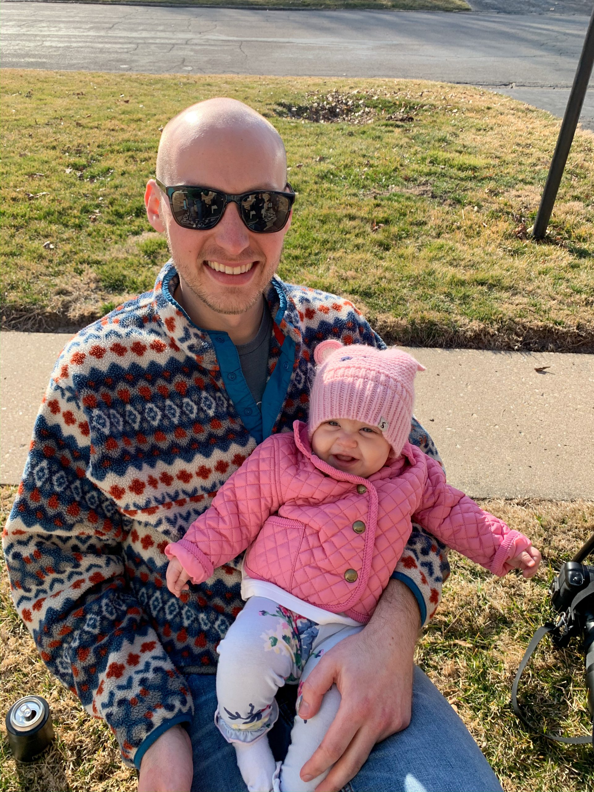 Joules clothing for baby, quilted baby coat, pink baby coat, family blog, Illinois family blogger