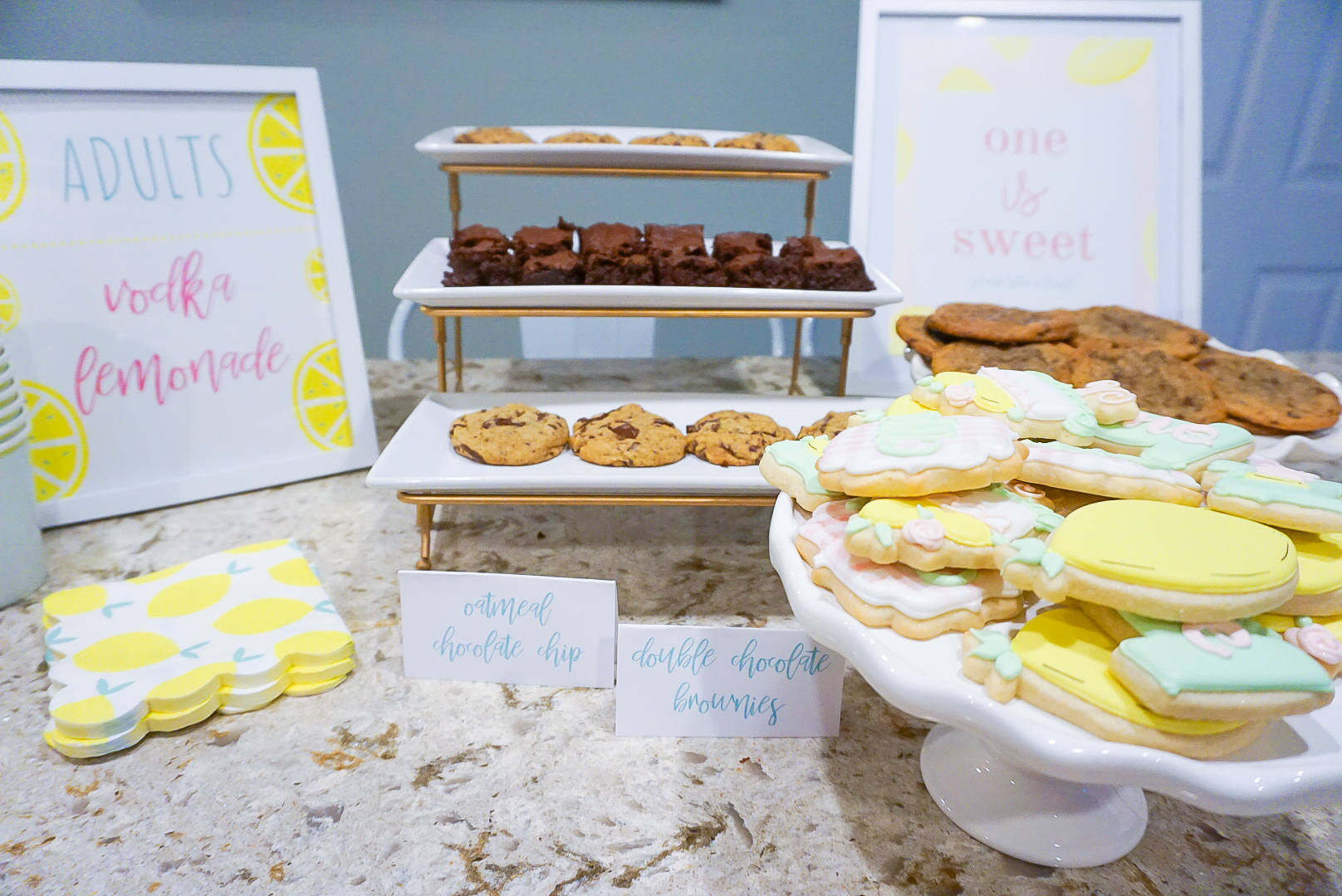 COVID party 2020, COVID drive by party ideas, lemonade party, first birthday party foods