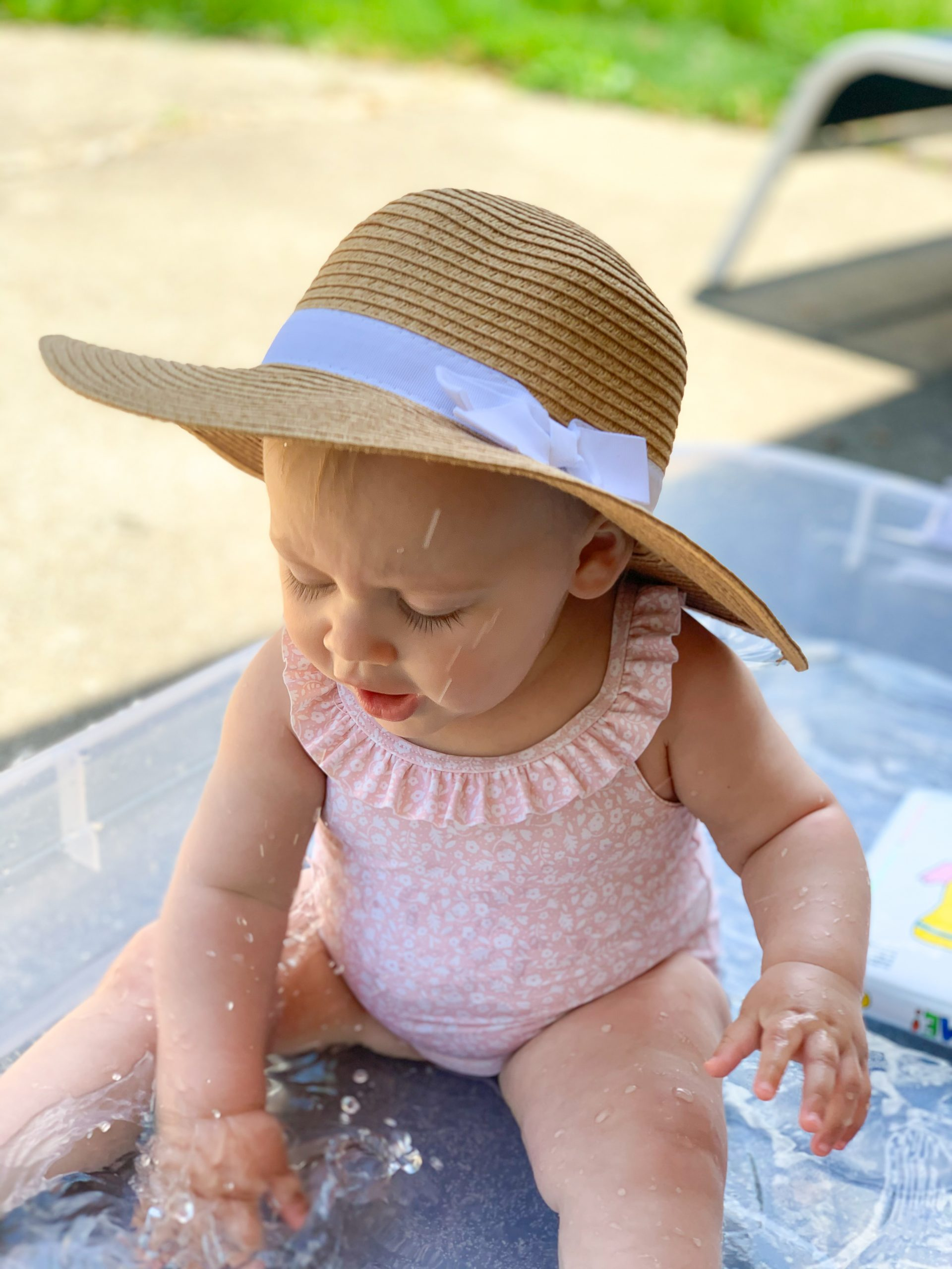 baby sun hat, h&m baby swimsuit 2020, pink floral baby swimsuit, preppy baby hats