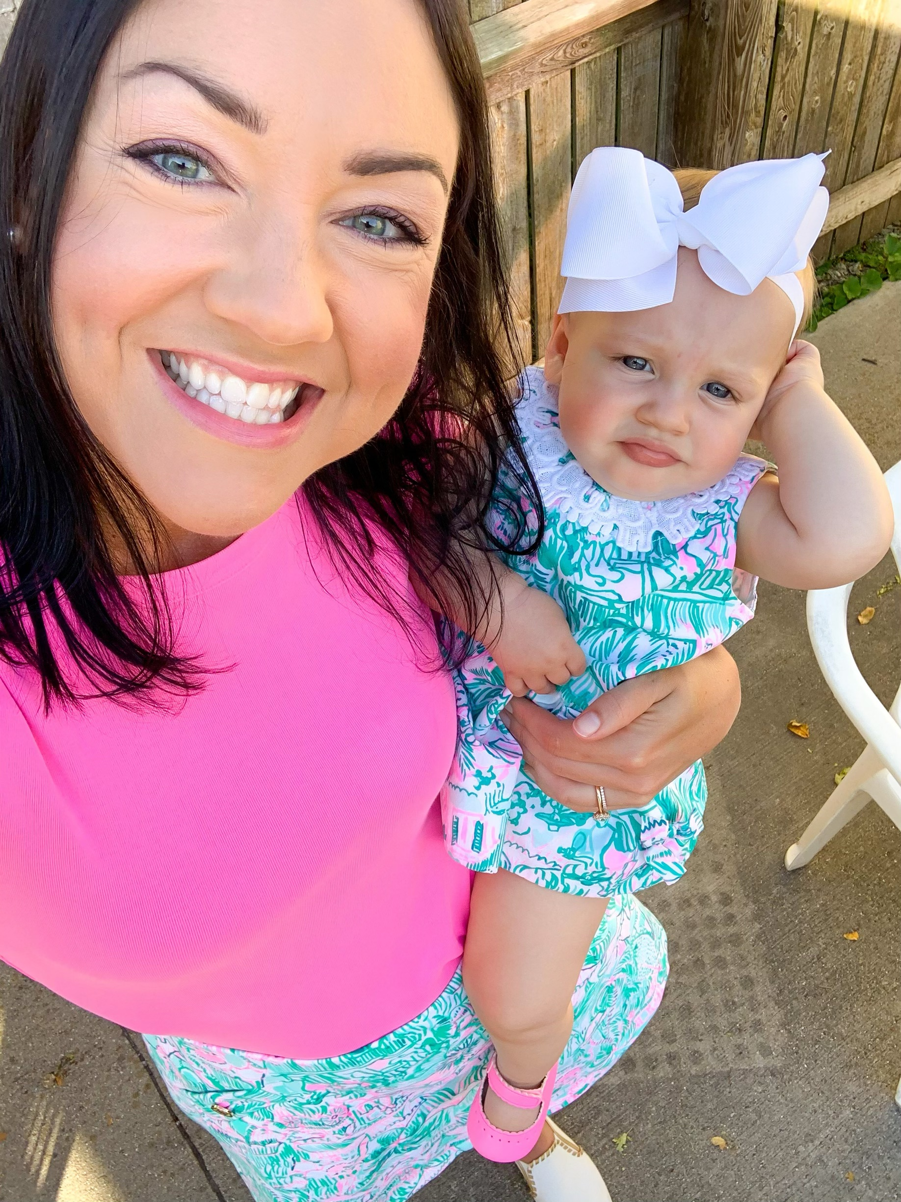 matching mommy, mommy and me clothing, mommy and baby clothing 2020, Lilly Pulitzer baby shift
