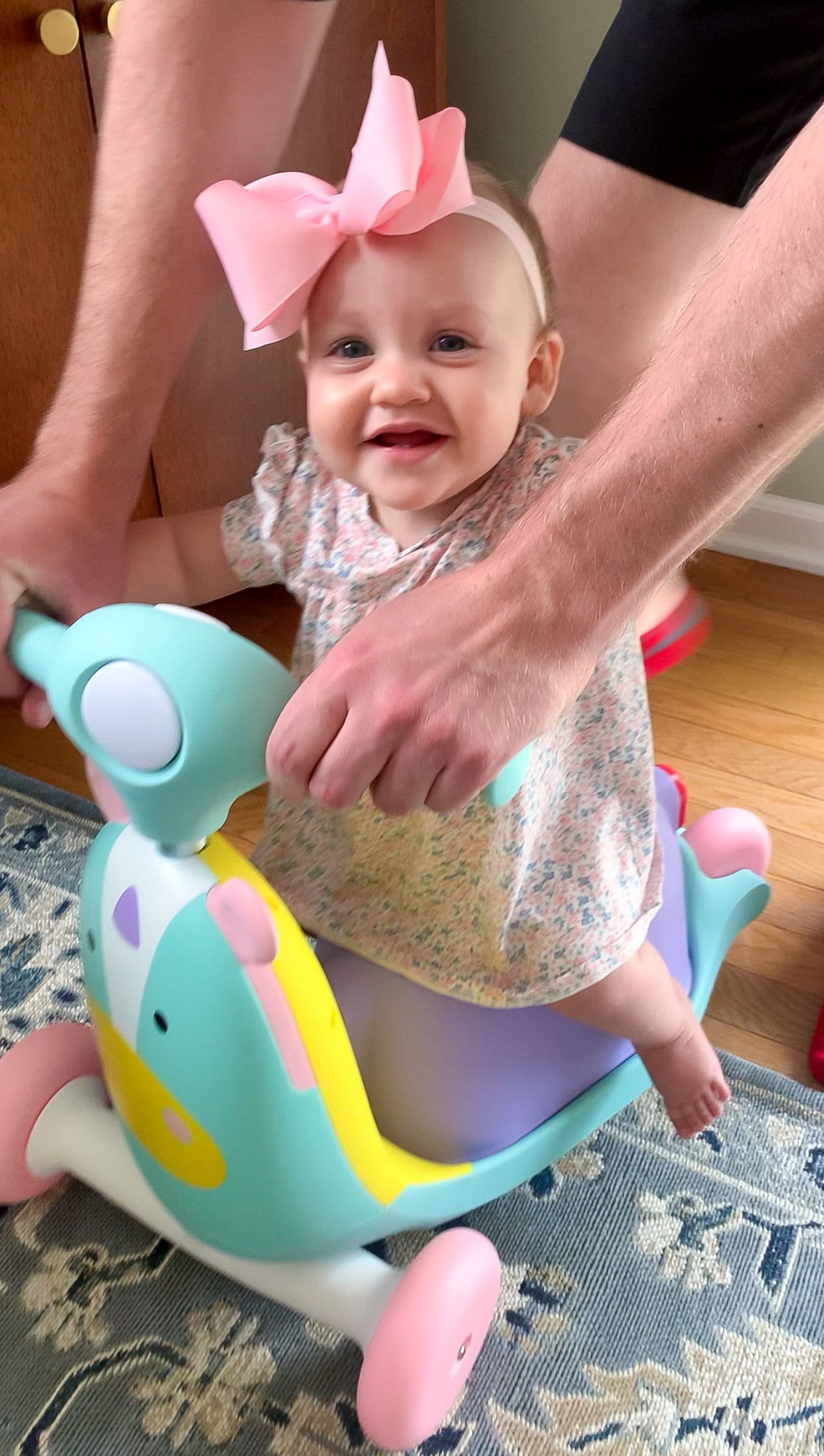 unicorn 3-in-1 scooter, baby's first scooter, best baby toys 2020, best baby gifts 2020