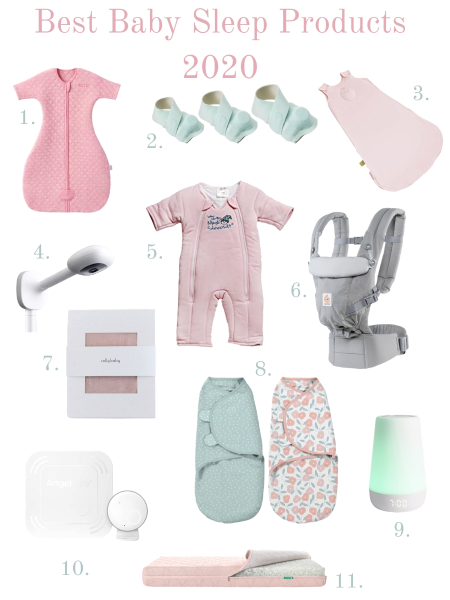 baby sleep products, best baby sleep products, best baby sleep items 2020, baby sleep products review, best baby monitor 2020, best baby swaddles 2020, best crib mattress 2020