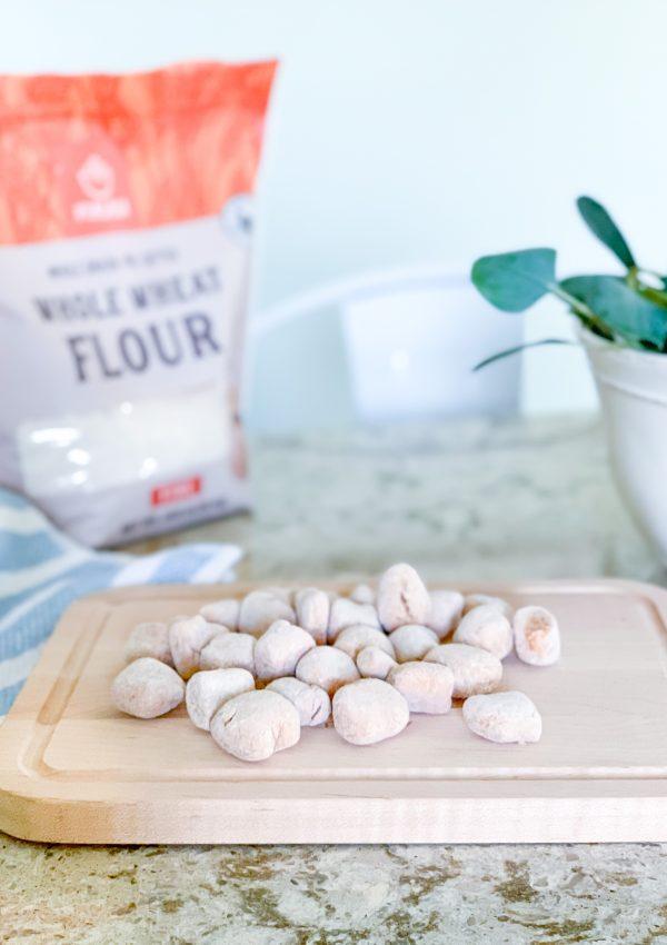 Healthy Sweet Potato Gnocchi