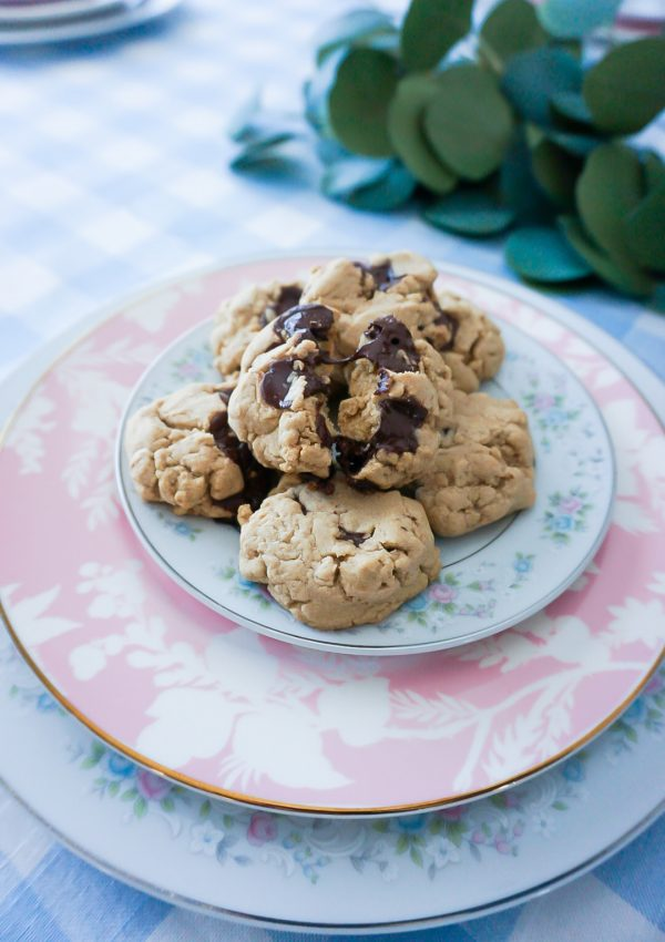 healthy chocolate chip cookies, allergen-friendly chocolate chip cookies