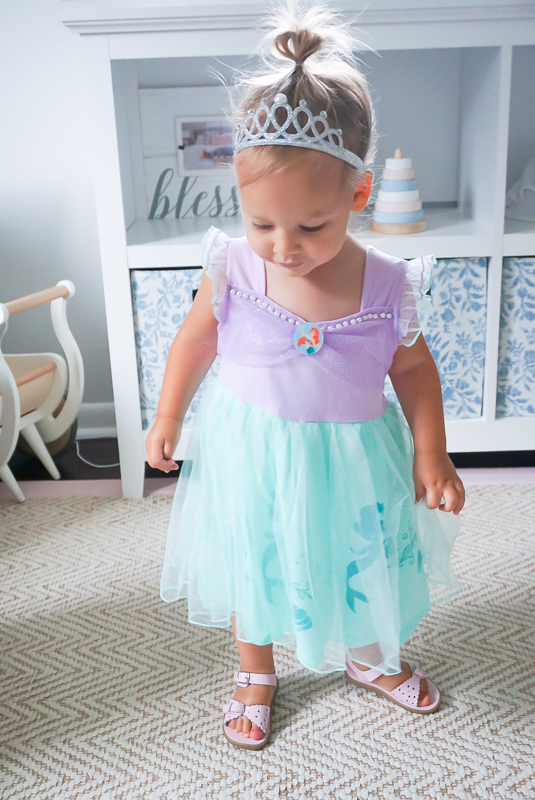 toddler girl costumes, Ariel princess costumes, Ariel Halloween costume, princess Ariel dress, cutest princess dresses, toddler princess dress, toddler Halloween costume