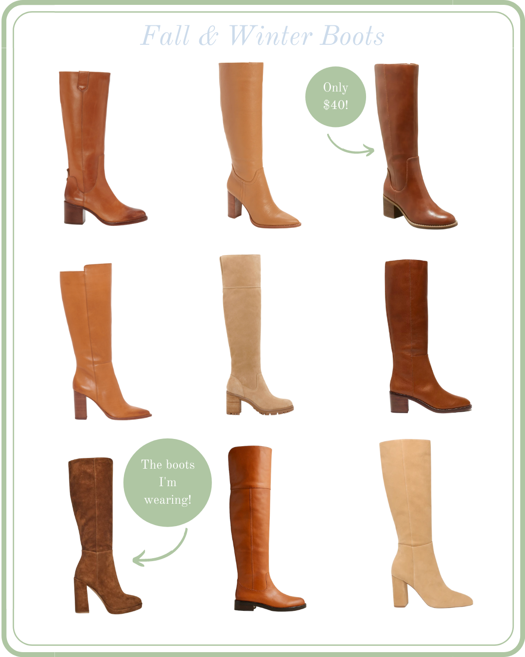 women's fall boots, women's winter boots, fall riding boots, classic riding boots, brown riding boots, leather riding boots, suede riding boots, tall suede boots, tan tall boots, tan suede boots, tall boots with a heel, over-the-knee boots